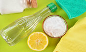3 Ways to Clean With Vinegar, Spit and Booze