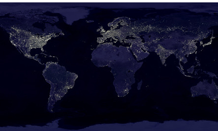 Shining a Light on Light Pollution (Infographic)
