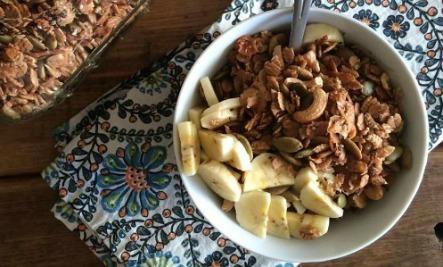 homemade spelt granola care2 healthy living