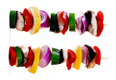 Grilled Veggie Kabobs Recipe