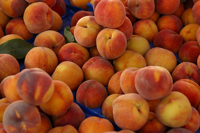Peaches: Kitchen Cupboard Beauty Tips