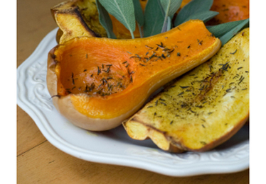 Maple-Roasted Acorn Squash Recipe