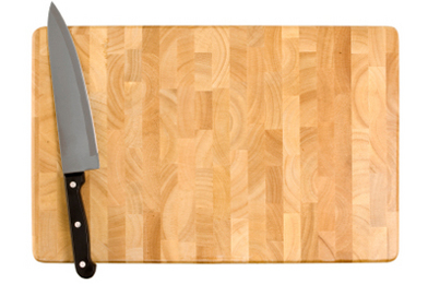 Cutting Board Cleaner:  Green Makeover