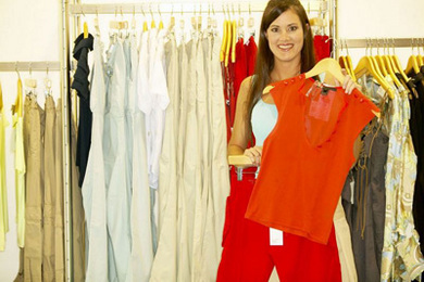 Clothes Shopping: Easy Greening