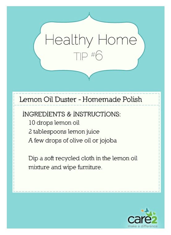 Superbe Lemon Oil Duster