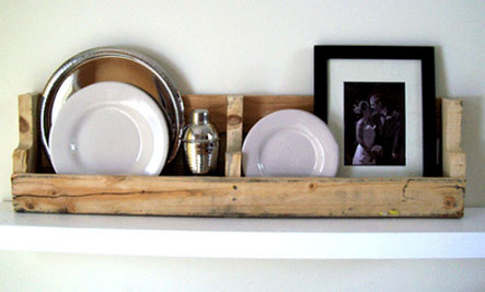 Above ... & DIY: Reclaimed Pallet Plate Rack | Care2 Healthy Living
