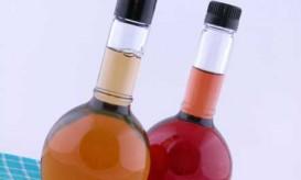 vinegar-bottles-close