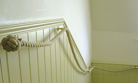 Diy Stair Rope Banisters Care2 Healthy Living