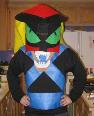 brak from space ghost - Space Ghost Halloween Costume