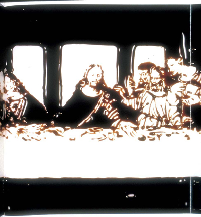 Milan (The Last Supper) - Vik Muniz