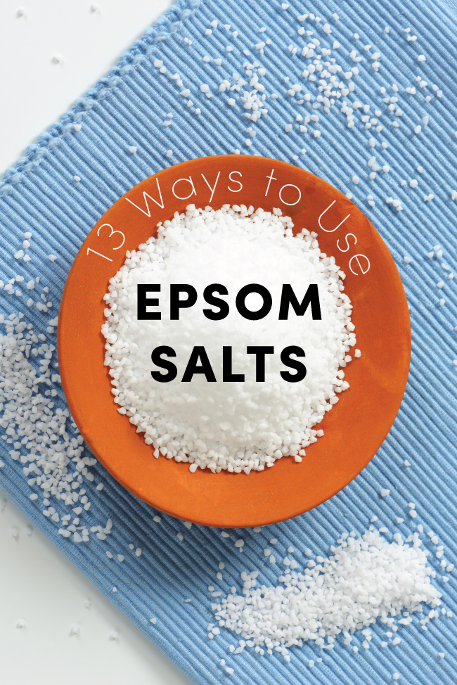 13 Ways to Use Epsom Salts
