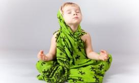 Child meditating RS