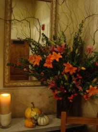 Mirrors, candles and flowers are all wonderful chi generators