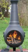 Chimineas are wonderful for encouraging us to spend time outside under the stars