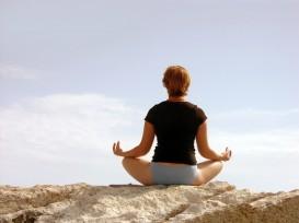 yoga om pose