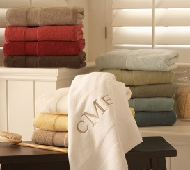 Bring in Plush New Towels and a Soft New Bath Mat