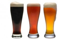 three-beer-glasses