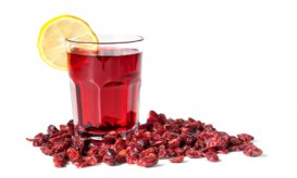 Cranberry Juice and Dried Cranberries