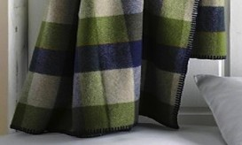 Remodelista-lumberman-blanket-queen-blue-green-plaid