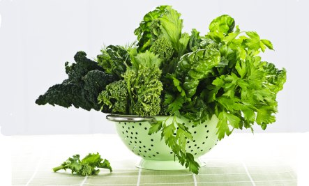 greens for health from Real Food For Life
