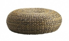 Ikea-wicker-pouf