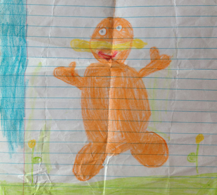 sarene marshall daughter lorax drawing