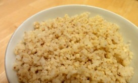 millet cooked