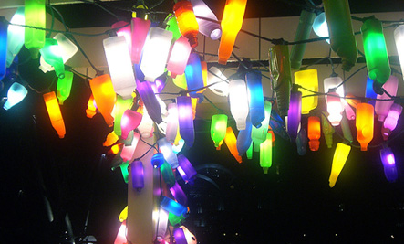 plastic bottle lights
