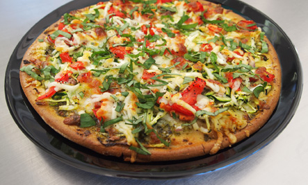 garden vegetable pizza - Pizza Garden