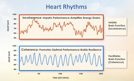 Positive/Negitive Heart Graph