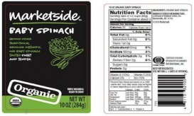 organic baby spinach recall 2
