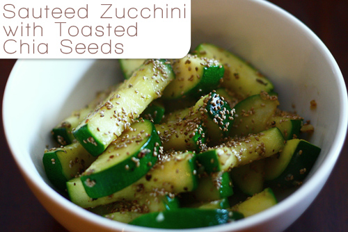 chia seed recipe with zucchini