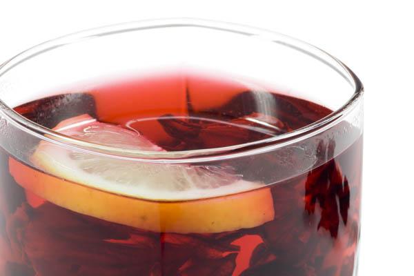 hibiscus tea mocktail