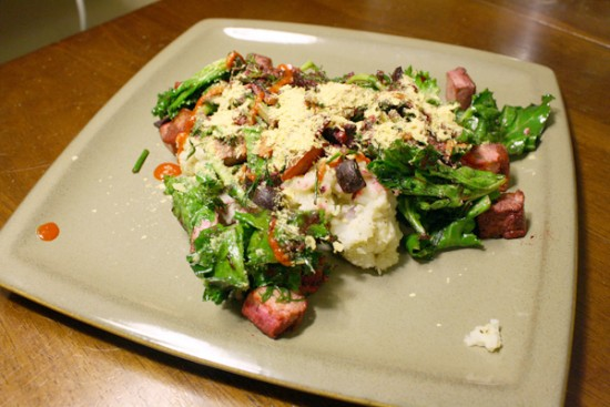 dilled kale recipe