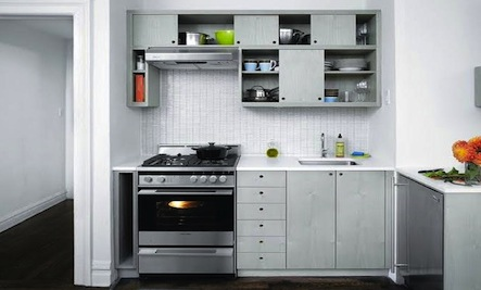 Above: Brooklyn Design Firm Workstead Integrated A Tiny Kitchen ... Part 92