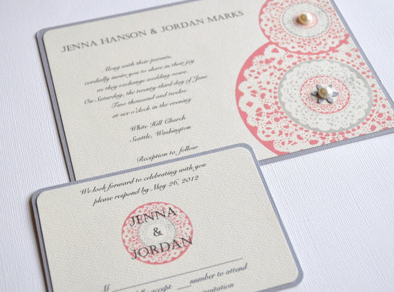 37 Unique Handmade Wedding Invitations | Care2 Healthy Living