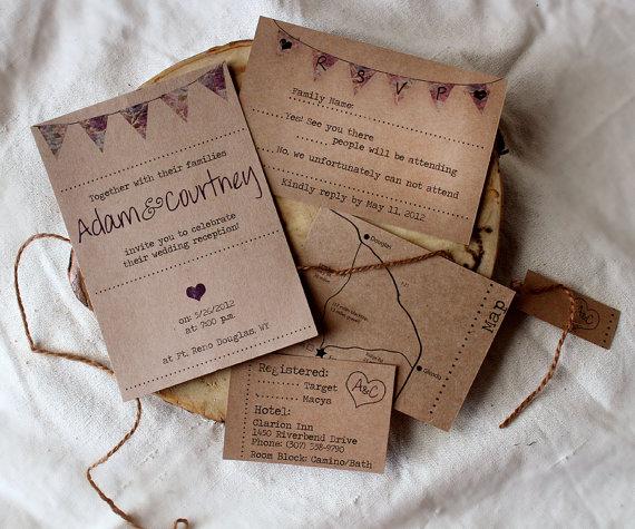 if - Homemade Wedding Invitations