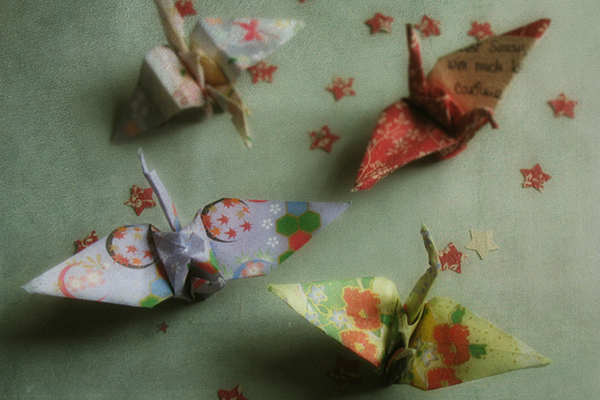 gift wrap origami