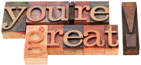 gratitude: you're great!