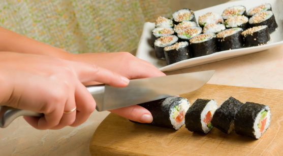 learn a skill: making sushi