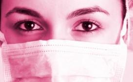 medical woman close up