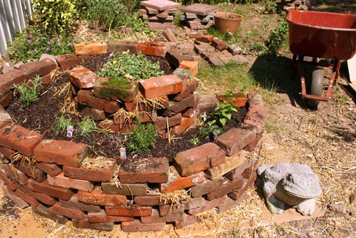 Garden Container Ideas 30 garden container ideas hypertufa containers Herb Spiral