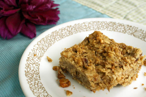 vegan granola bar