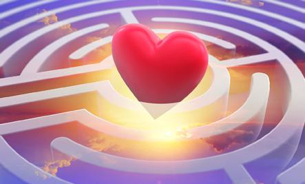 heart in a maze