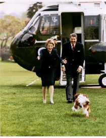 reagan and dog rex