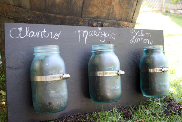 reclaimed glass jar crafts