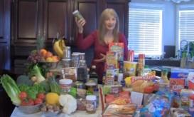 Demontration of Real Food vs  junk food