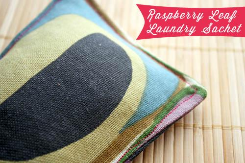 organic laundry sachet