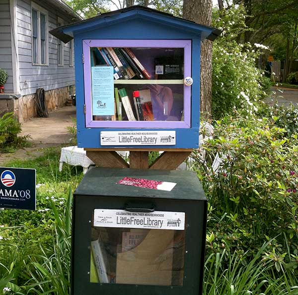 Little Free Library, Atlanta