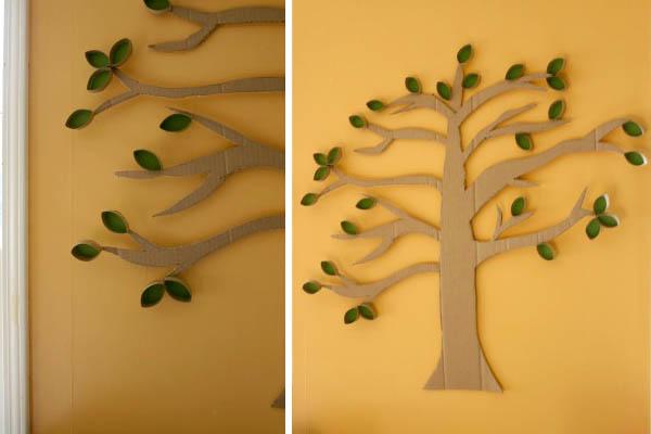 paper tube tree